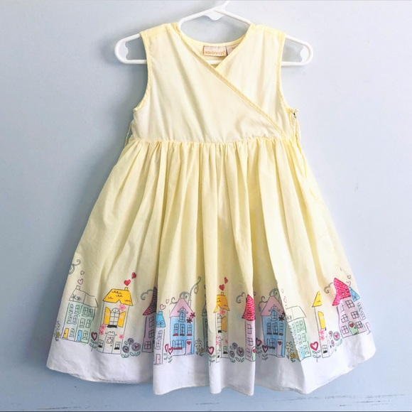 💰SOLD!Savannah Girls Dress w/ Paris Print Size 3T